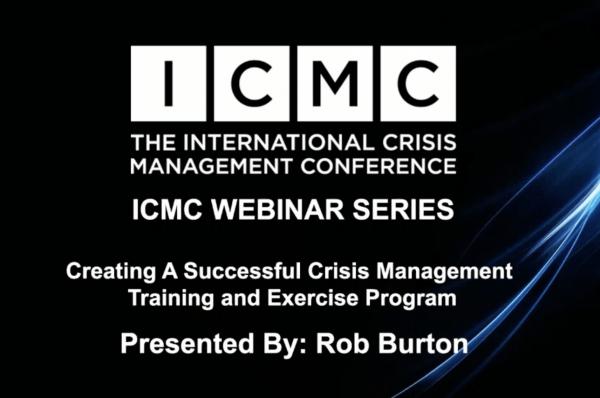 crisis management exercise program