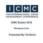 Ed Davis - Managing Crisis