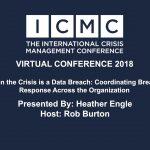 When the Crisis is a Data Breach: Coordinating Breach Response Across the Organization